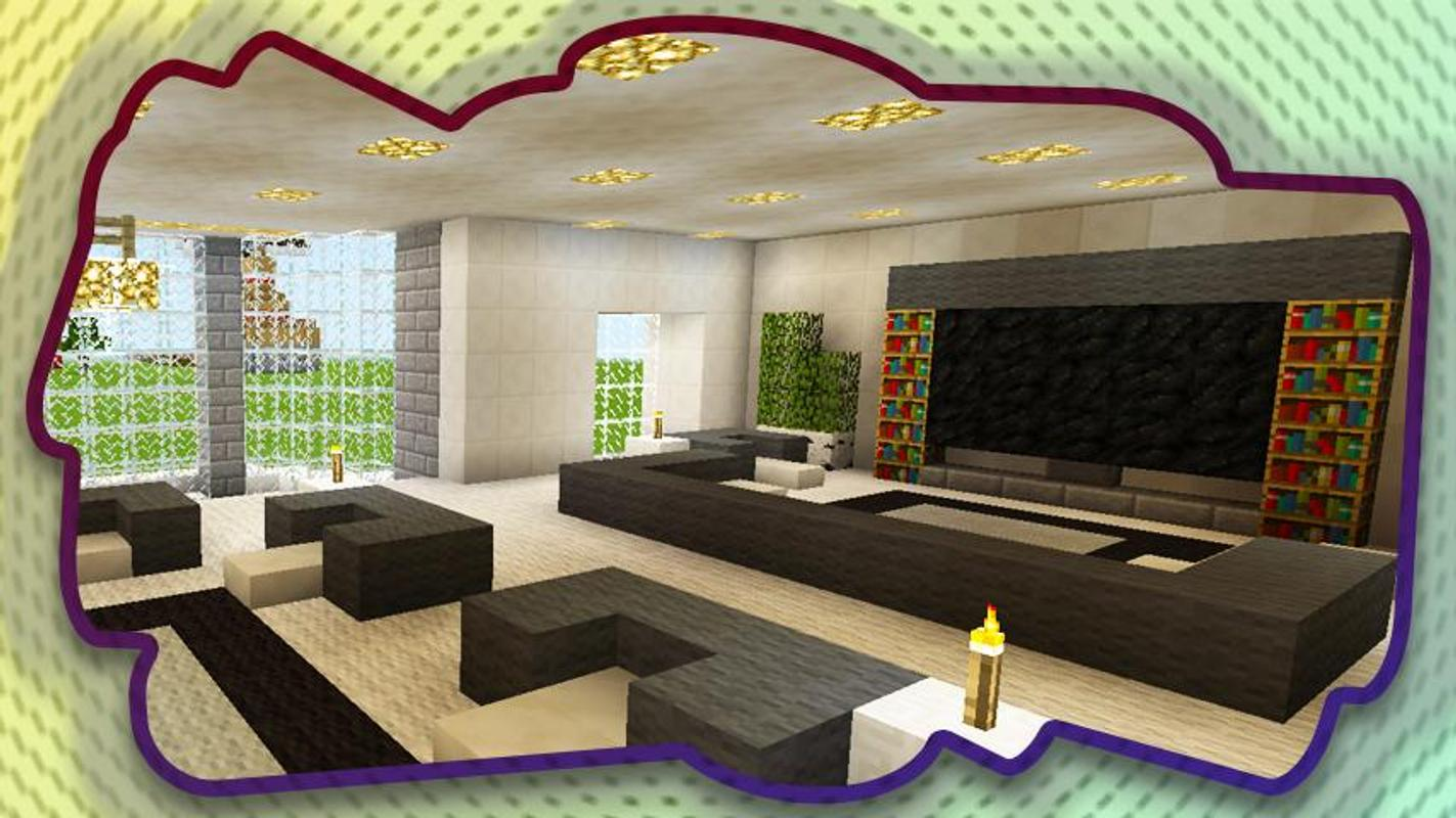 How To Make Living Room Furniture In Minecraft Pe | Baci