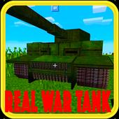 Real War Tank mod for MCPE! icon