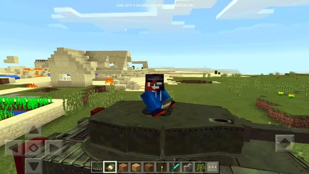 Real War Tank mod for MCPE! screenshot 3