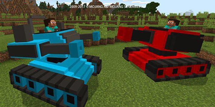 Real War Tank mod for MCPE! screenshot 7