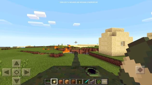 Real War Tank mod for MCPE! screenshot 5