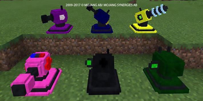 Real War Tank mod for MCPE! screenshot 6