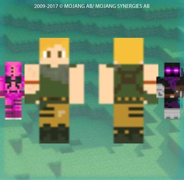 Skins For Fortnite Battle Royale For MCPE For Android APK Download - Skins para minecraft pe 0 15 6