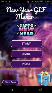 New Year GIF 2019 poster