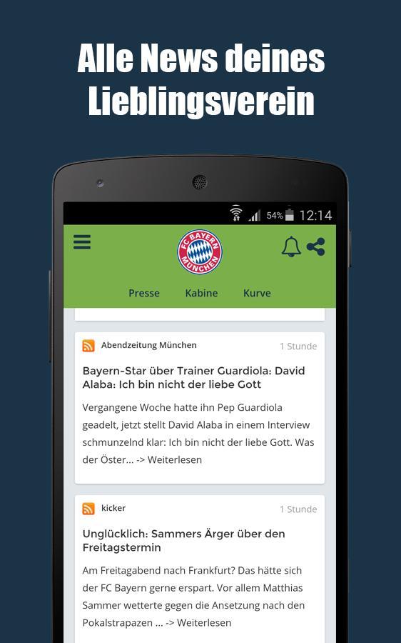 Fussball Bundesliga App Fussball News Ergebnisse For