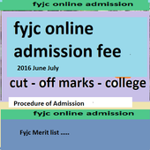 Fyjc online Admission Process icon
