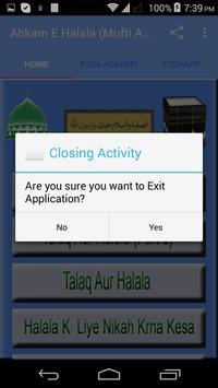 Ahkam E Halala (Mufti Akmal) apk screenshot