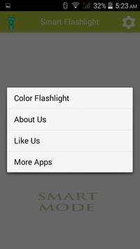 Smart Flashlight apk screenshot