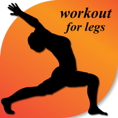 workout for legs icon