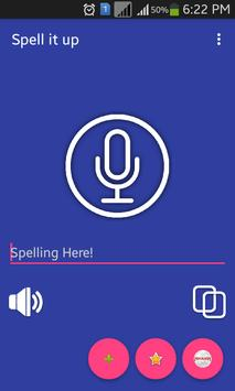 Spell and Pronounce Words Right apk screenshot