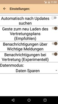 VertretungsPlan SMART screenshot 1