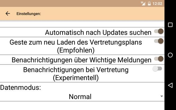 VertretungsPlan SMART screenshot 3