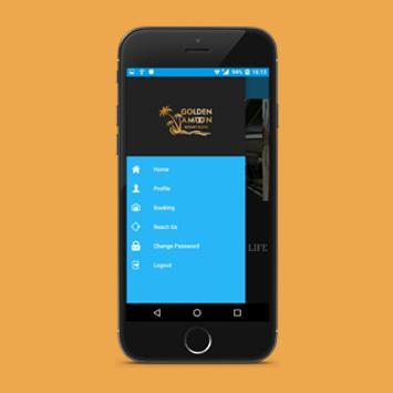 GoldenAmoon Resort apk screenshot