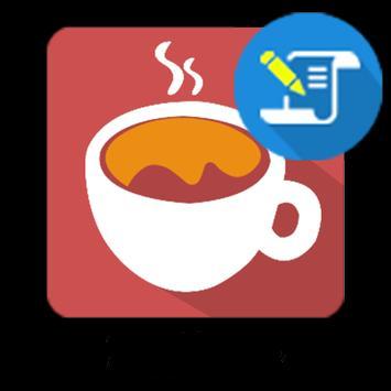 Kaffeecupfeed poster