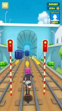 Subway Princess - Endless Run apk screenshot