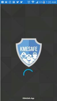 KMeSafe poster