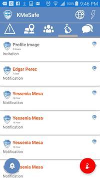 KMeSafe apk screenshot