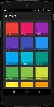 BGcolors - Wallpaper apk screenshot