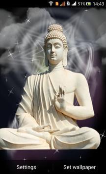 Lord Buddha Live Wallapaper Poster