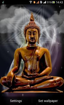 Lord Buddha Live Wallapaper Apk Screenshot