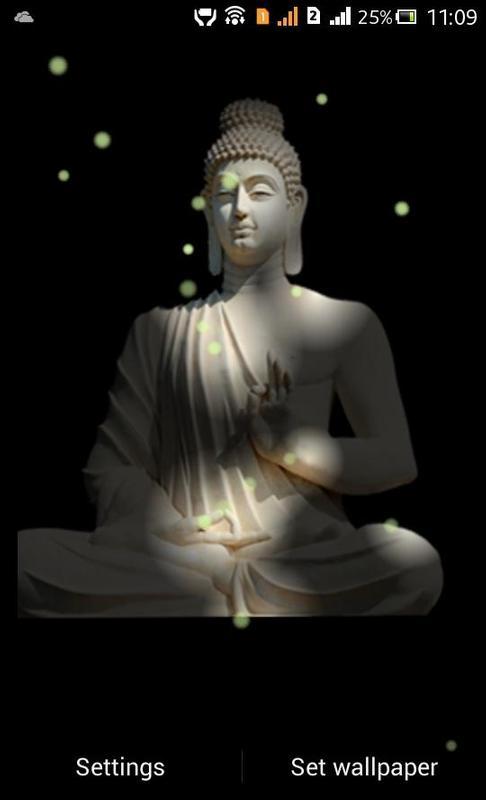 Buddha Fireflie Live Wallpaper Poster