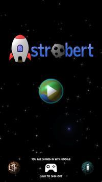Astrobert - Free poster