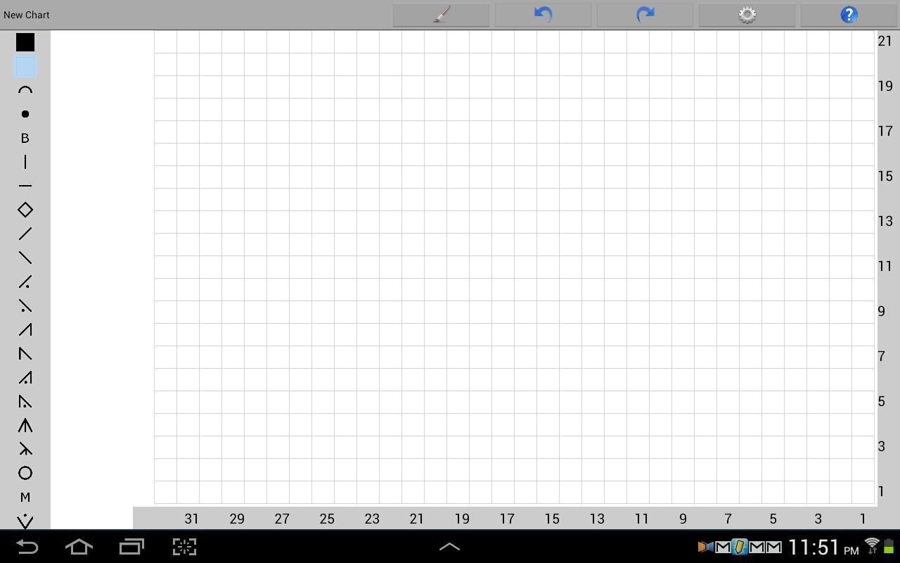 Knitting Chart Maker para Android - APK Baixar