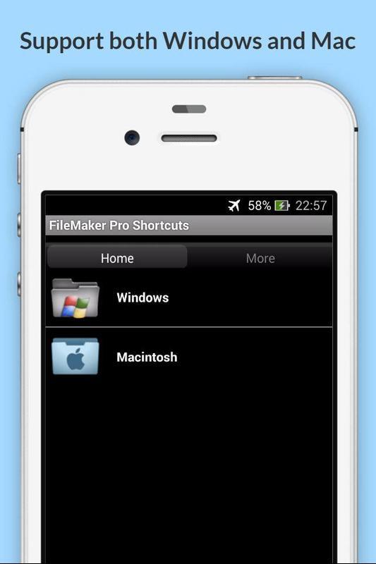 Free Filemaker Pro Shortcuts Apk Download Kostenlos Effizienz App