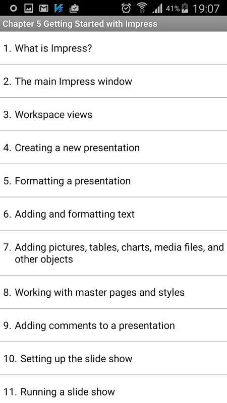 Free openoffice tutorial apk download free productivity app for free openoffice tutorial apk screenshot altavistaventures Image collections