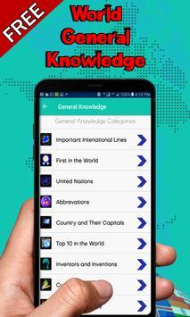 General Knowledge book All World (Free) screenshot 2