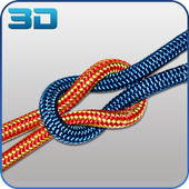 Knots 3D Animated: Useful and Helpful icon