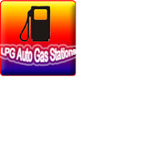LPG Auto Gas Stations icon
