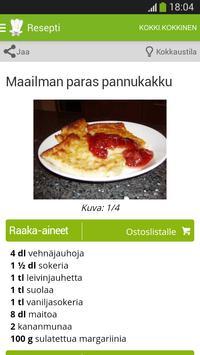 Kotikokki.net reseptit screenshot 3