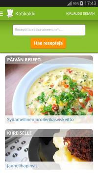 Kotikokki.net reseptit poster
