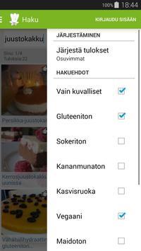 Kotikokki.net reseptit screenshot 2