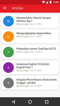 Belajar Bahasa apk screenshot