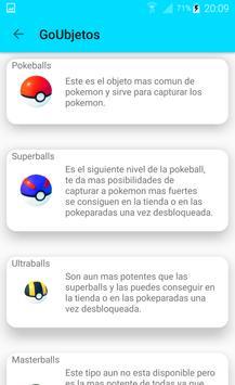 GoKedex Guia Pokemon Go screenshot 1