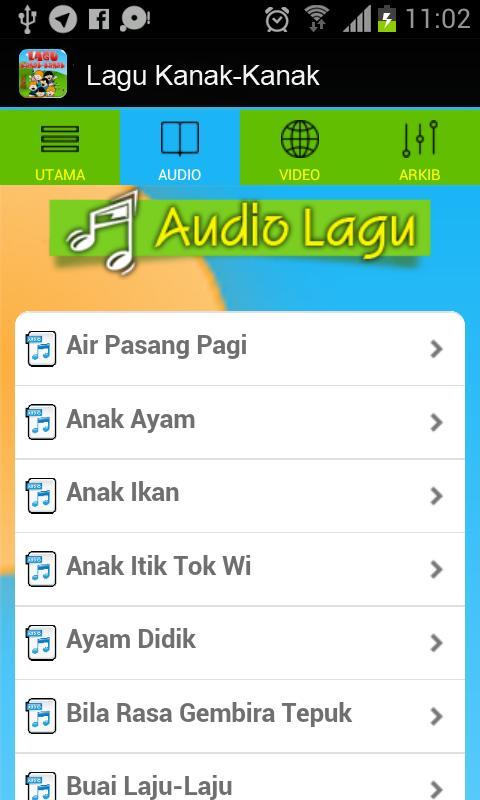 Lagu Kanak Kanak Melayu For Android Apk Download