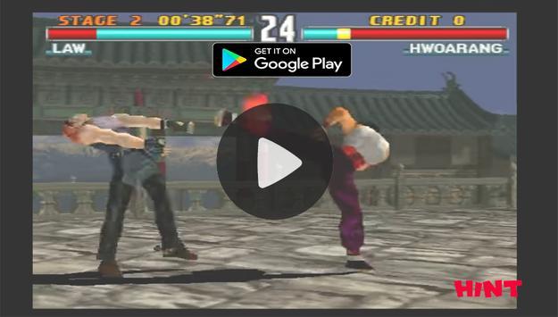 New Tekken 3 Hint poster