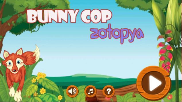 Zoo city adventure judy poster