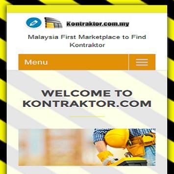 KONTRAKTOR.COM.MY poster