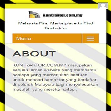 KONTRAKTOR.COM.MY screenshot 14