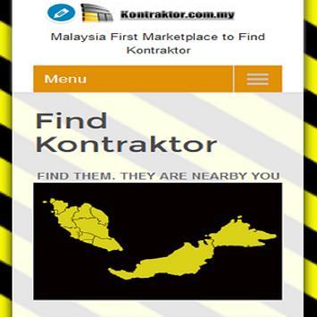 KONTRAKTOR.COM.MY screenshot 1