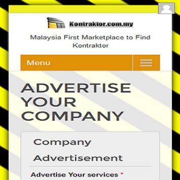 KONTRAKTOR.COM.MY screenshot 5