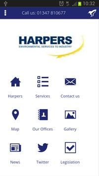 Harpers Waste Management poster