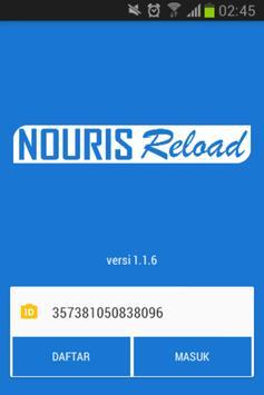 aplikasi nouris reload poster