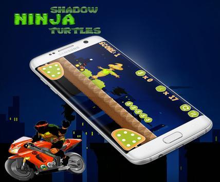 Ninja Shadow - Turtles Climbs screenshot 1