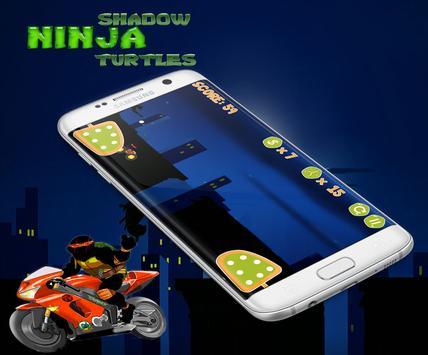 Ninja Shadow - Turtles Climbs screenshot 5