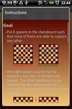 Eight Queens screenshot 3