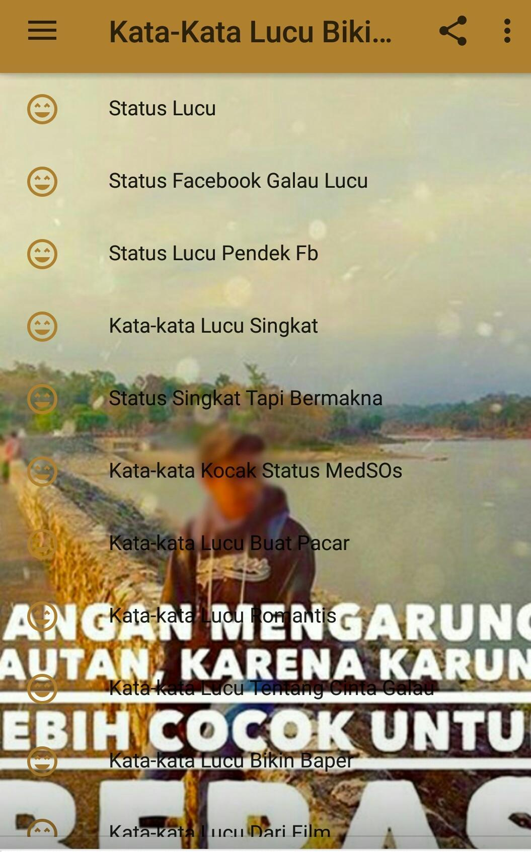 Kata Kata Status Lucu Bikin Ngakak For Android APK Download